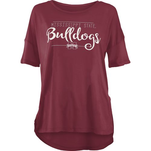Three Squared Juniors' Mississippi State University Script T-shirt