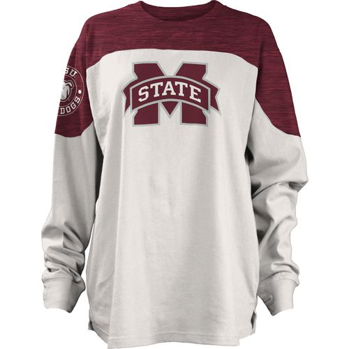 Three Squared Juniors' Mississippi State University Cannondale Long Sleeve T-shirt