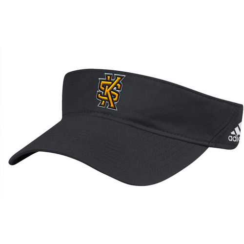 adidas Men's Kennesaw State University Coach Adjustable Visor - view number 1