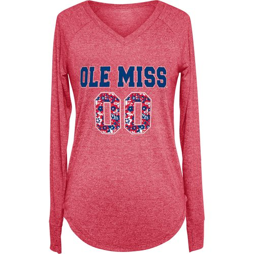 Chicka-d Women's University of Mississippi Favorite Long Sleeve T-shirt