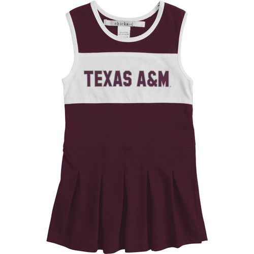 Chicka-d Girls' Texas A&M University Cheerleader Dress