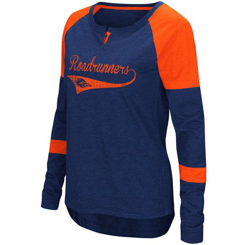 Colosseum Athletics Women's University of Texas at San Antonio Routine Raglan T-shirt