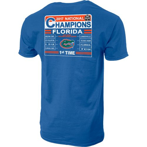 Blue 84 Men's University of Florida College World Series Tumble T-shirt