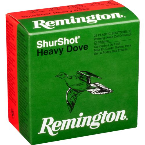 Display product reviews for Remington ShurShot Heavy Dove 12 Gauge 8  Shotshells