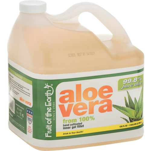 Display product reviews for Fruit of the Earth 128 oz Aloe Vera Juice