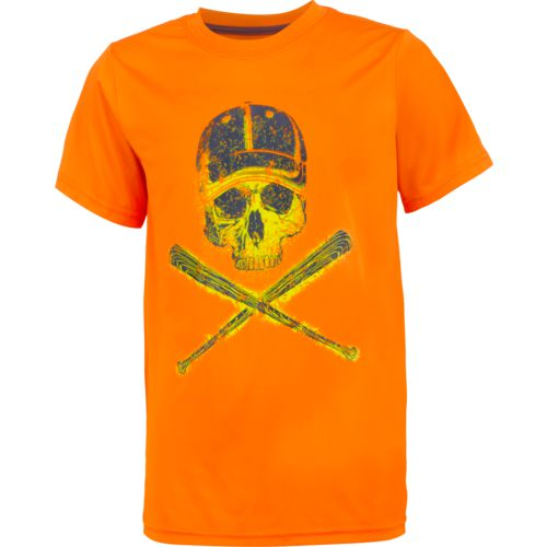 BCG Boys' Baseball Skull Short Sleeve T-shirt