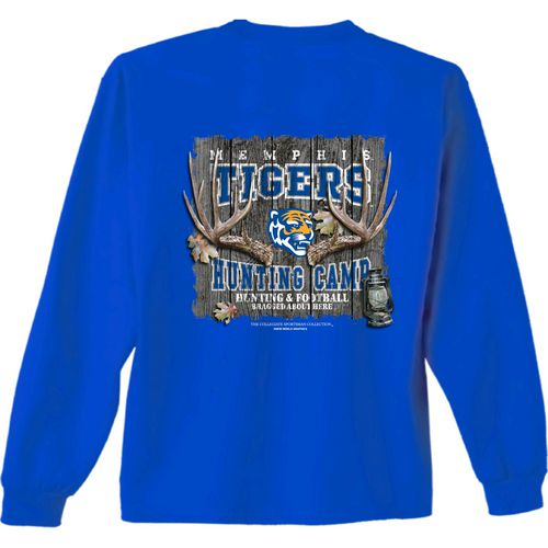 New World Graphics Men's University of Memphis Hunt Long Sleeve T-shirt