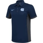 Nike Men's University of North Carolina Dri-FIT Evergreen Polo Shirt - view number 3