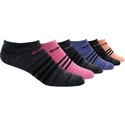 adidas Women's Superlite No-Show Socks 6 Pack