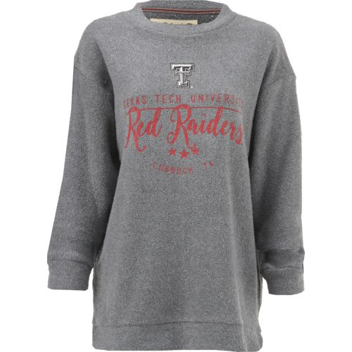 Three Squared Juniors' Texas Tech University Finley Comfy Terry Pullover