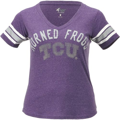 G-III for Her Women's Texas Christian University Big Game Fashion Top