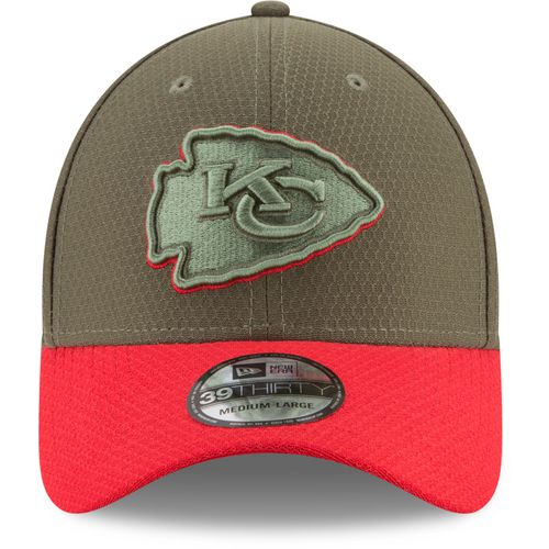 New Era Men's Kansas City Chiefs Salute to Service '17 39THIRTY Cap