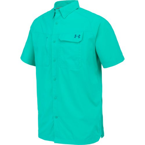 Under Armour Men's Fish Hunter Short Sleeve Shirt - view number 3