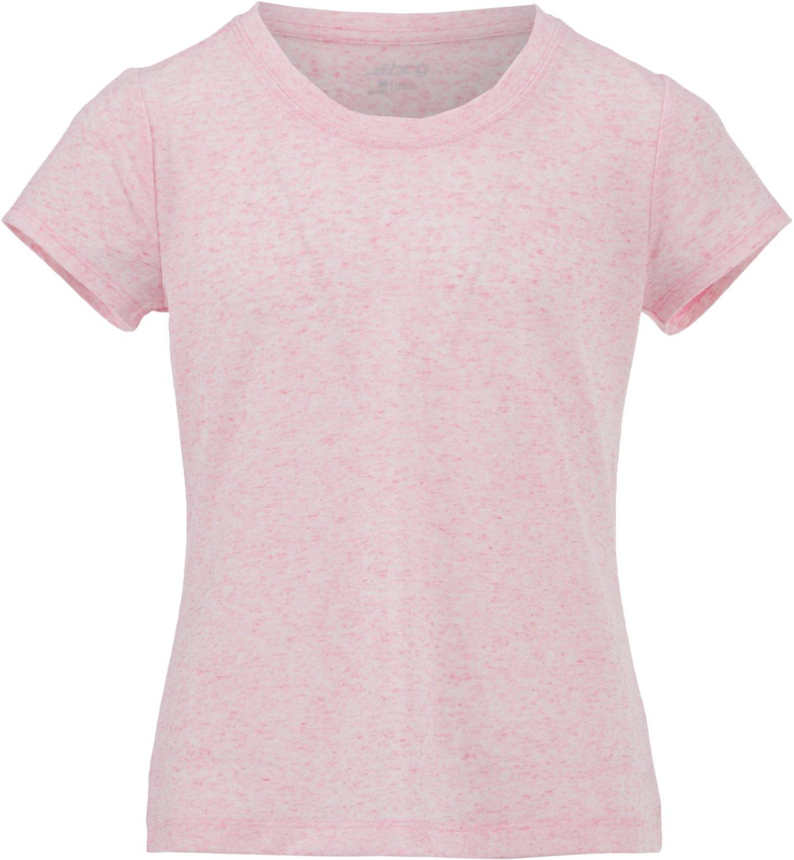Display product reviews for BCG Girls' Lifestyle Crew Slub T-shirt