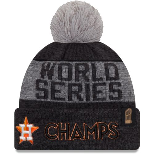 New Era Men's Astros 2017 World Series Champs Locker Room Beanie