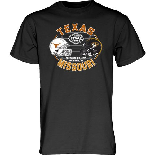 Blue 84 Men's Texas vs. Missouri Texas Bowl Helmet T-Shirt