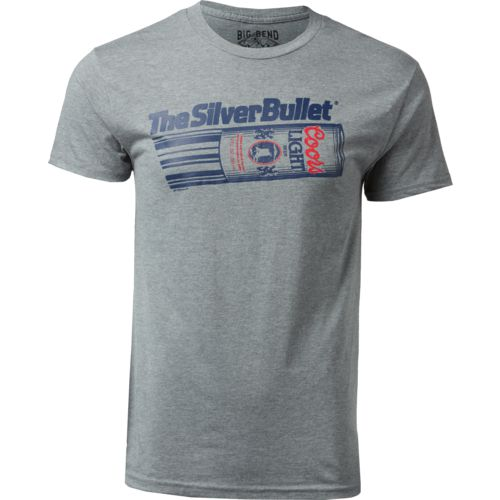 Big Bend Outfitters Men's Coors The Silver Bullet Short Sleeve T-shirt - view number 3