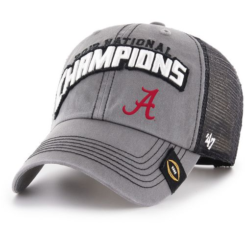 '47 University of Alabama CFP National Champs Clean Up Mesh Back Cap