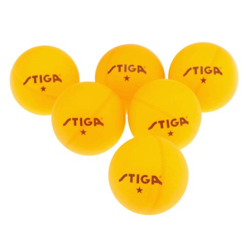 Stiga® 1-Star Table Tennis Balls 6-Pack