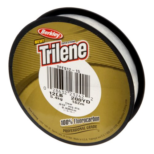 Display product reviews for Berkley® Trilene® 200-Yard Fluorocarbon Fishing Line