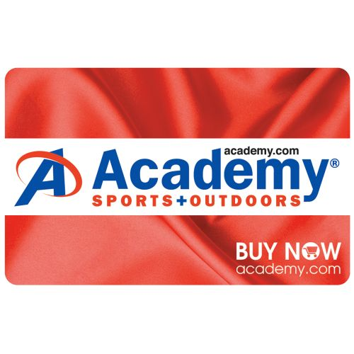 Academy Holiday Gift Card -Red Satin Design BULK