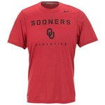 Nike Men's University of Oklahoma Dri-FIT Athletics Legend Short Sleeve T-shirt
