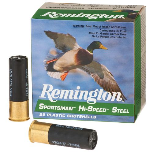 Remington Sportsman Hi-Speed Steel 12 Gauge Shotshells - view number 1