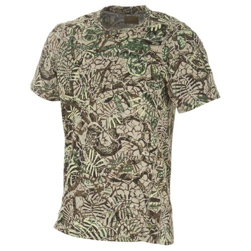 Brush Country Camouflage Men's Allover Mesquite Pattern Camo Short Sleeve Graphic T-shirt