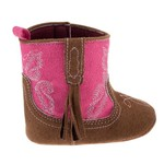 Rising Star Infant Girls' Crib Cowboy Boots