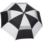 "Wilson Ultra™ 68"" Black and White Dual-Canopy Umbrella"