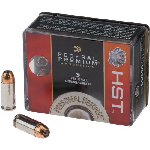 Federal Premium® Personal Defense® .40 S&W 180-Grain Centerfire Pistol Ammunition - view number 1
