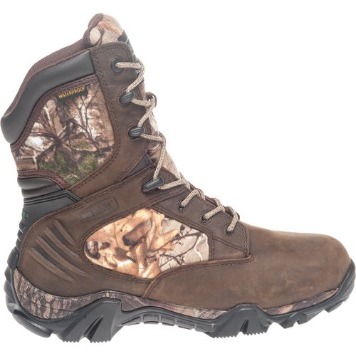 Display product reviews for Wolverine Men's Woodlander Realtree Xtra Green Hunting Boots