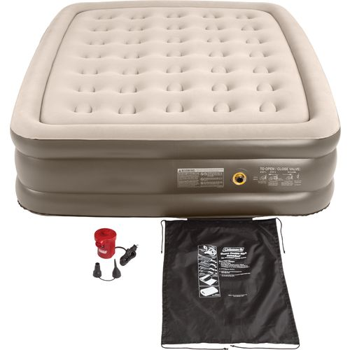 Coleman  Quickbed  Double-High Queen-Size Airbed with 120V Pump