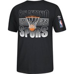adidas Men's San Antonio Spurs Hoop Shot T-shirt
