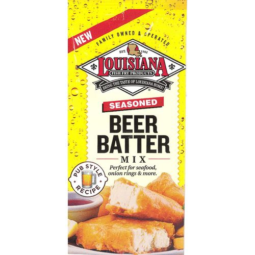 Louisiana Fish Fry Products Beer Batter Mix