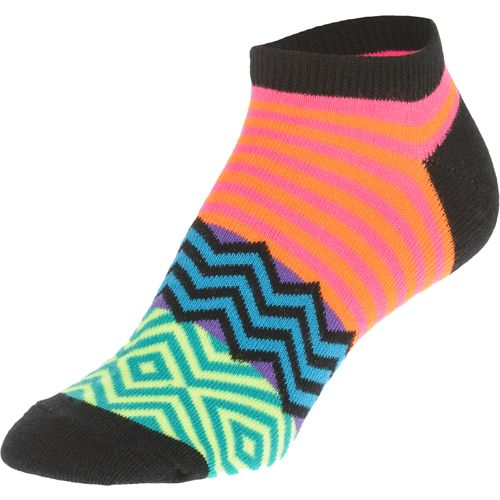 BCG Women's Aztec Assorted Pattern Ankle Socks 6 Pack