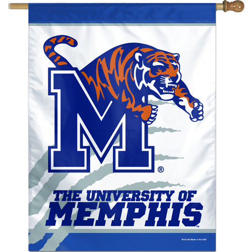 WinCraft University of Memphis Vertical Flag