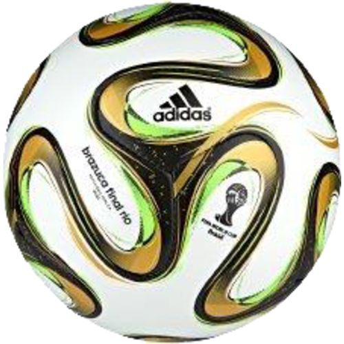 Image for adidas Brazuca 2014 Final Mini Soccer Ball from Academy