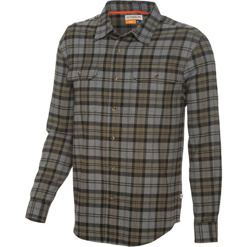 Display product reviews for Magellan Outdoors™ Men's Huntsman Performance Flannel Button Down Plaid Shirt