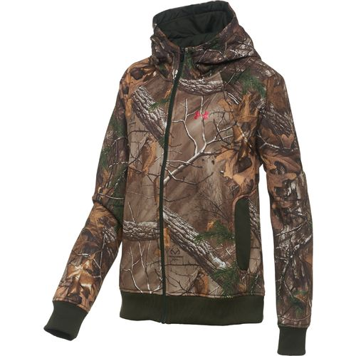 Under Armour  Women s ColdGear  Camo Full Zip Hoodie