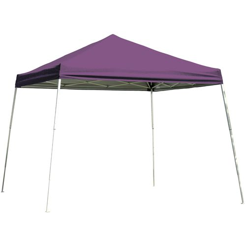 ShelterLogic Sport Series Slant-Leg 10' x 10' Open-Top Pop-Up Canopy