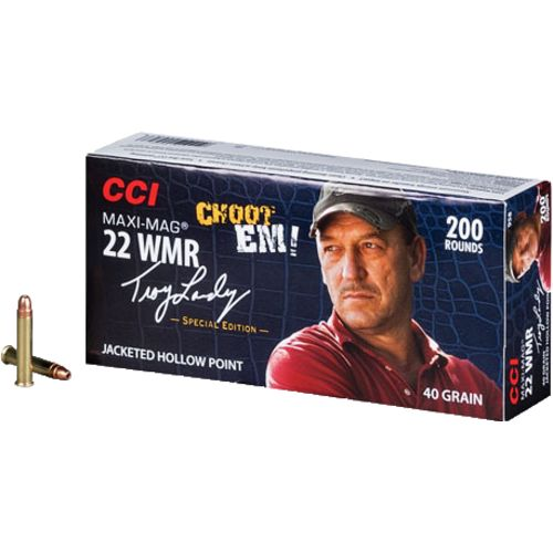 CCI® Swamp People .22 WMR 40-Grain Rimfire Ammunition