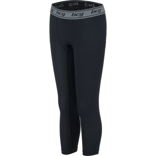 BCG Boys' Athletic 3/4 Length Compression Tight
