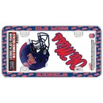 Stockdale University of Mississippi Thin Rim License Plate Frame and Decals