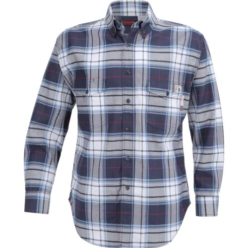 Wolverine Men's Flame Resistant Twill Plaid Shirt - view number 1