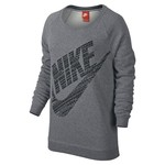 Nike Women's Rally Boyfriend Fit Logo Crew Top