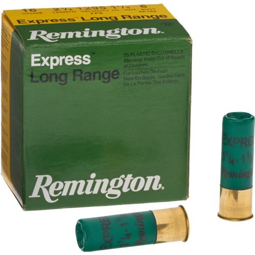 Display product reviews for Remington Express Extra-Long Range 16 Gauge Upland Shotshells