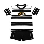 Two Feet Ahead Toddlers' University of Missouri Rugby Short Set