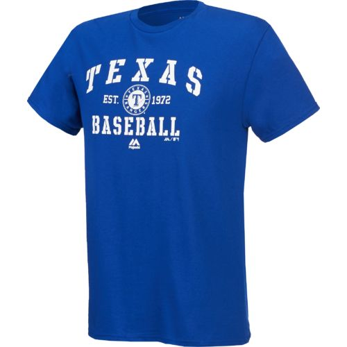 Majestic Men's Texas Rangers Authentic Collection Classic T-shirt