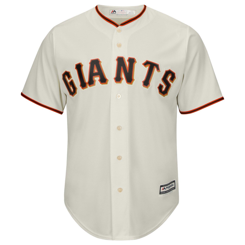 Majestic Men's San Francisco Giants Brandon Belt #9 Cool Base Replica Jersey - view number 2